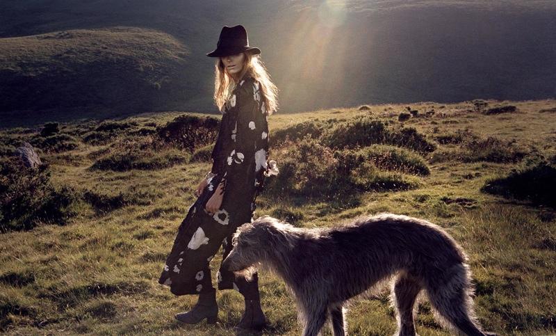Alisa Ahmann - PORTER Fall 2015 By Yelena Yemchuk