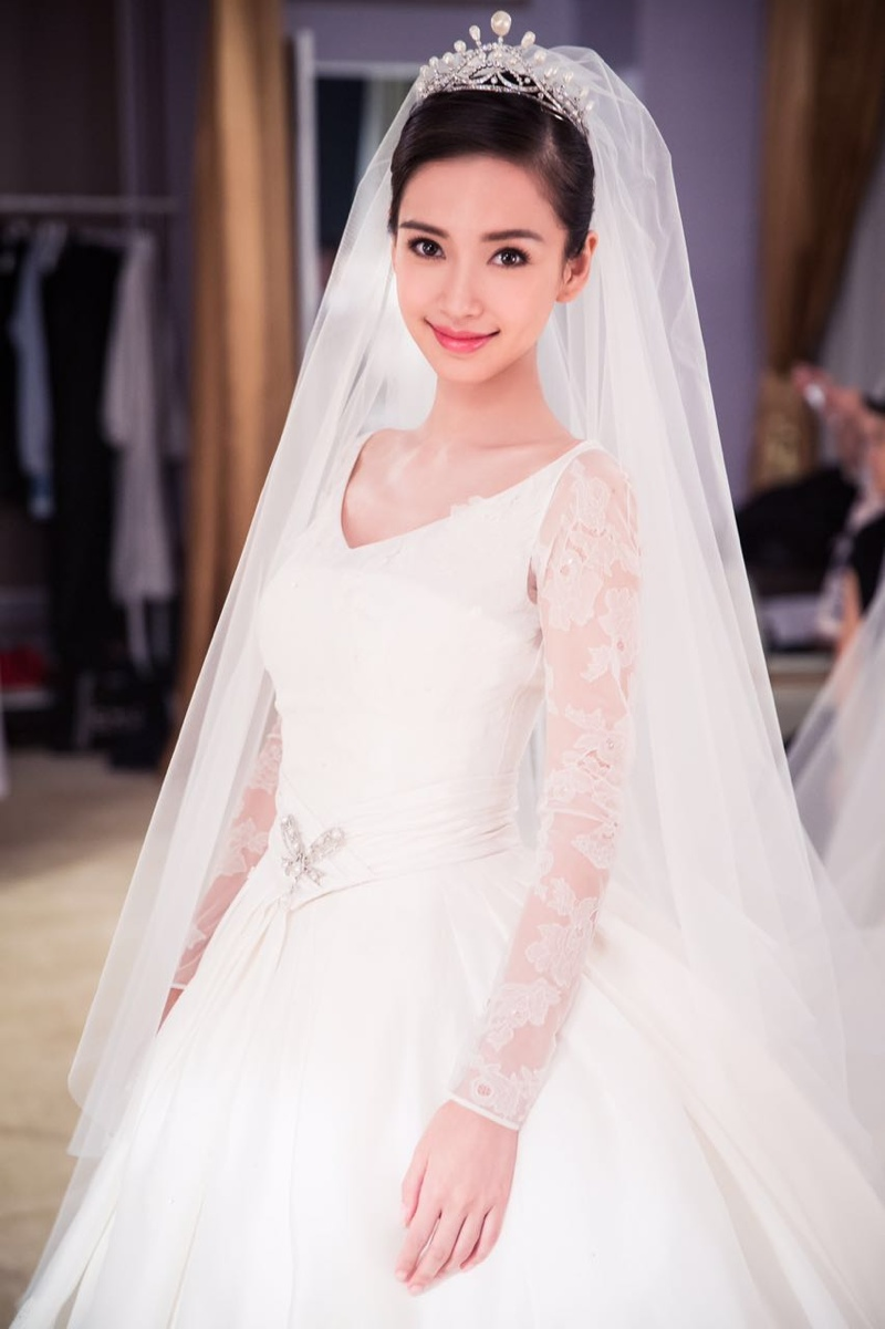 Angelababy Wedding Dress Photos See Angelababys Dior Gown