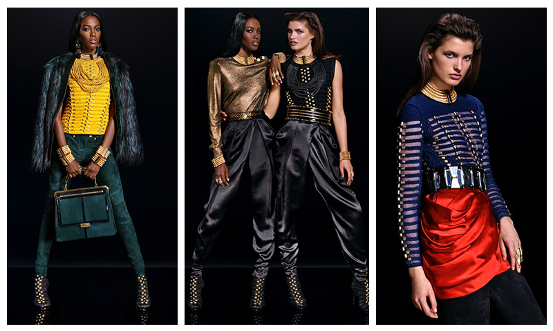 The Balmain X H&M Lookbook Has Finally Arrived!