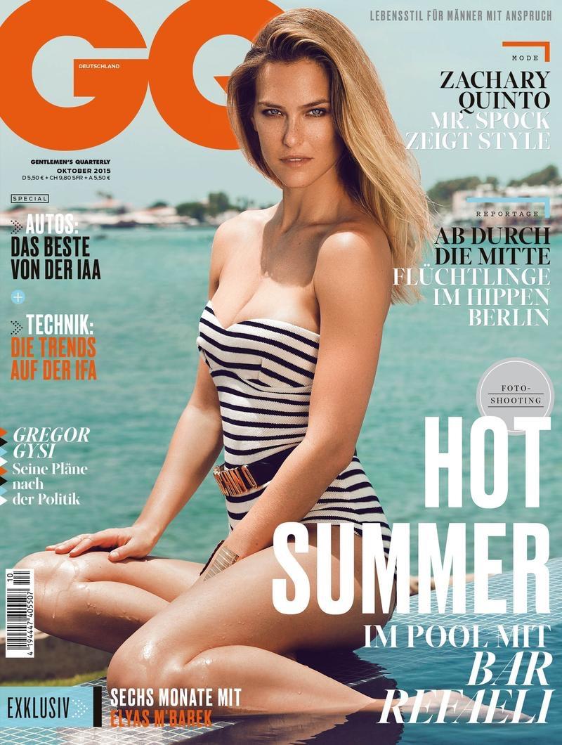 Bar Refaeli on GQ Germany October 2015 cover