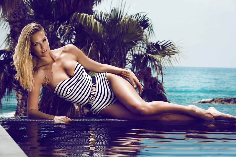 Bar Refaeli is Smokin' Hot for GQ Germany Editorial