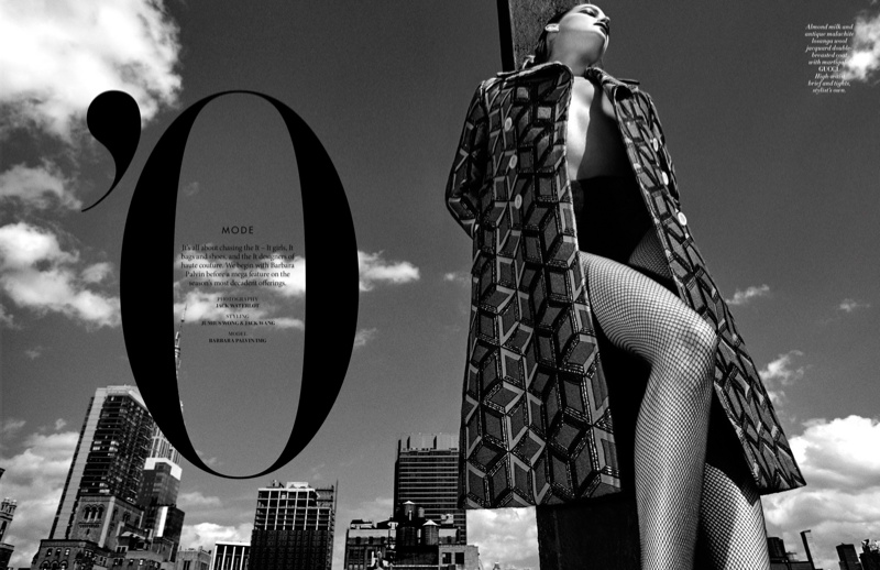 Barbara Palvin stars in L'Officiel Singapore's October issue