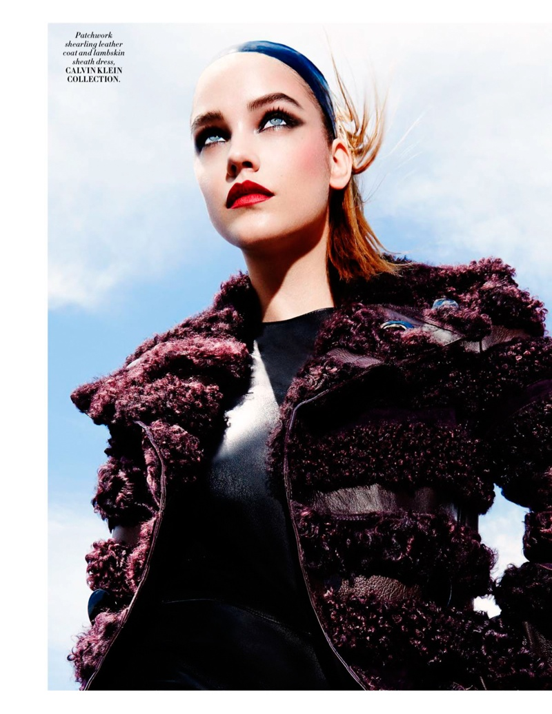 Barbara Palvin is 'Electrifying' in L'Officiel Singapore Editorial