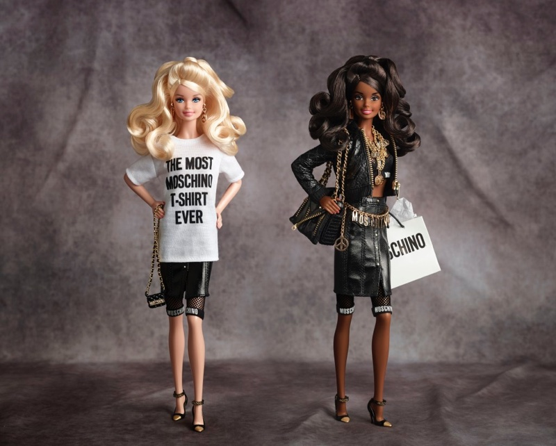 A look at the Moschino Barbie collection