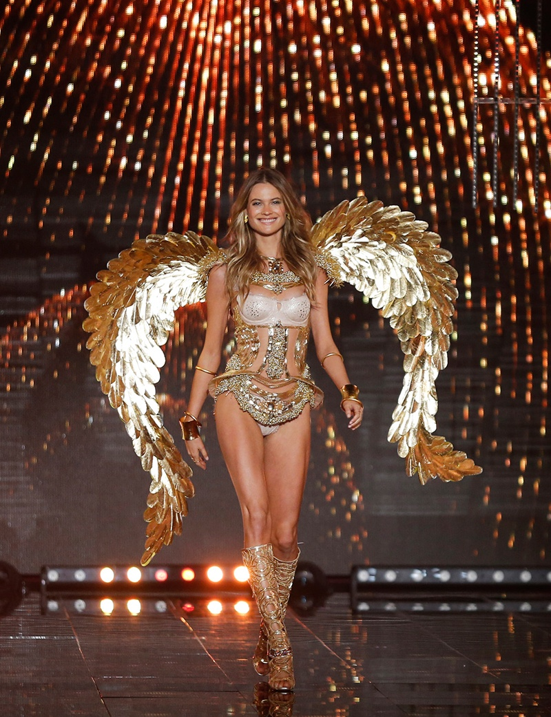 Behati Prinsloo at the 2014 Victoria's Secret Fashion Show. Photo: Victoria's Secret.