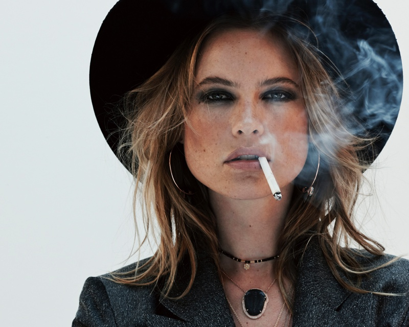 Behati Prinsloo for Jacquie Aiche Jewelry