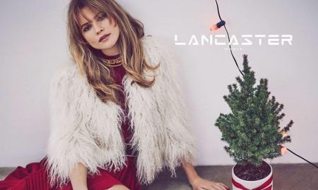 Behati Prinsloo stars in Lancaster Paris' Christmas 2015 campaign