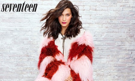 Bella Hadid stars in Seventeen Magazine's November issue