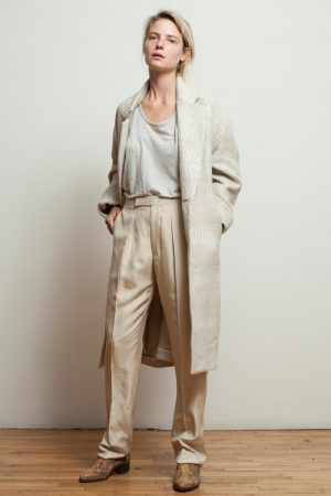 Billy Reid Does Soft Tailoring for Spring 2016