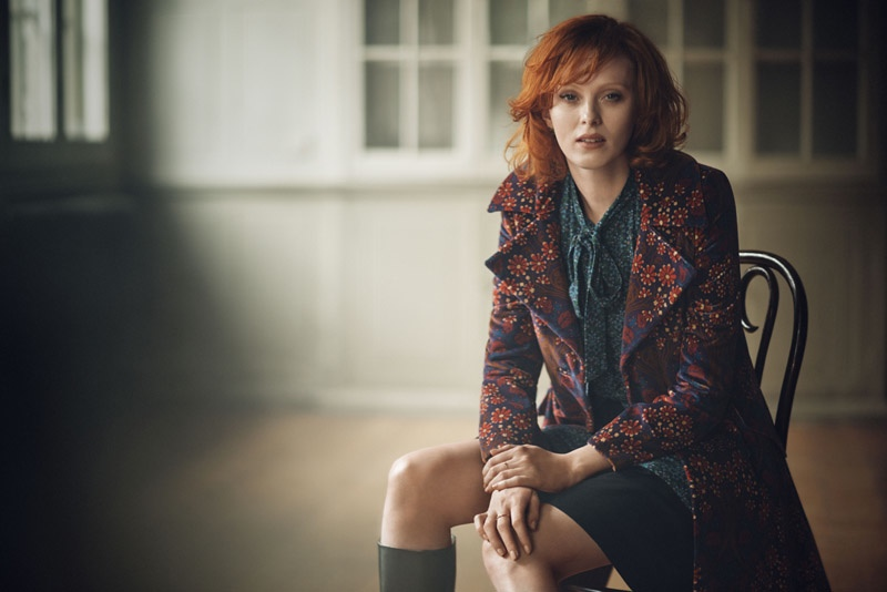 Karen Elson for Boden Icons