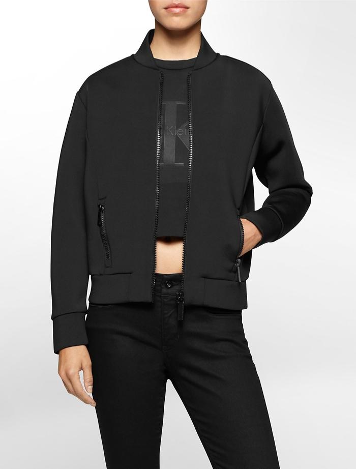 Calvin Klein Black Series Spacer Bomber Jacket