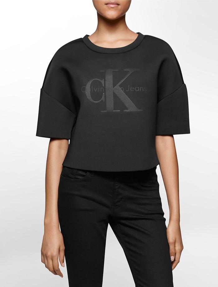 Calvin Klein Black Series Spacer Fitted Tee