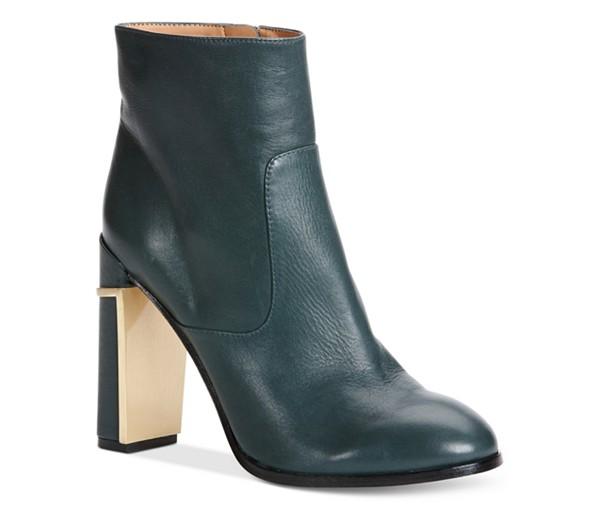 Calvin Klein Leather Booties