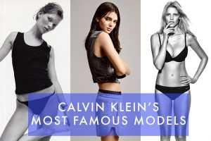 Calvin Klein's Most Famous Models: From Kate to Kendall
