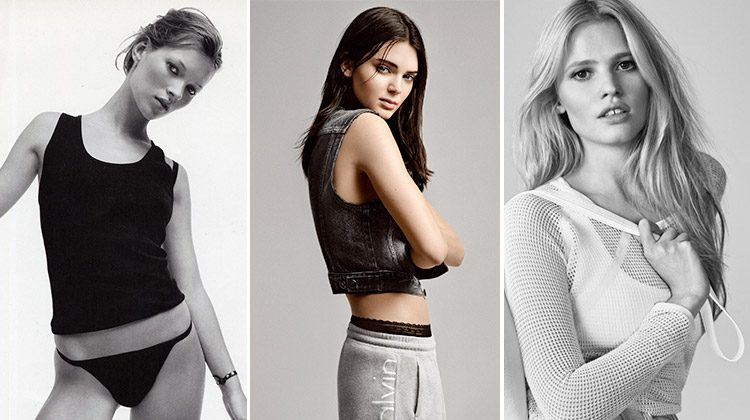 Calvin Klein's Most Iconic Models: From Kate to Kendall