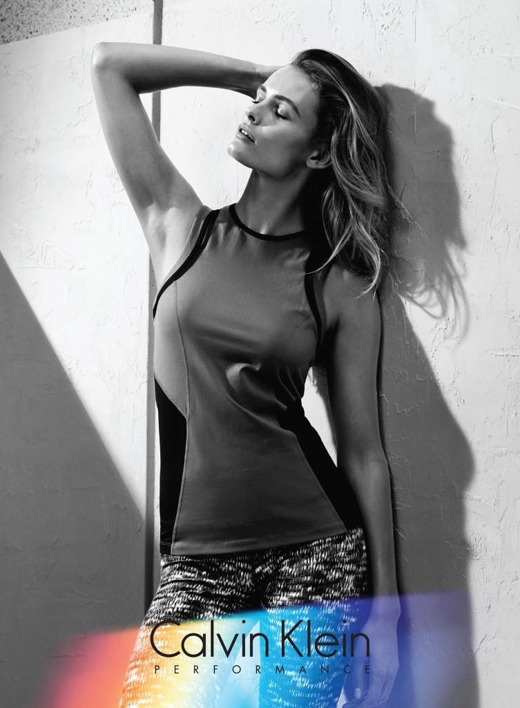 Edita Vilkeviciute stars in Calvin Klein Performance fall-winter 2015 campaign
