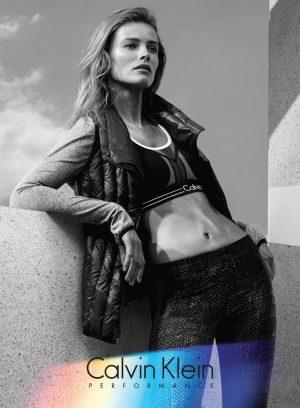 Edita Vilkeviciute for Calvin Klein Performance