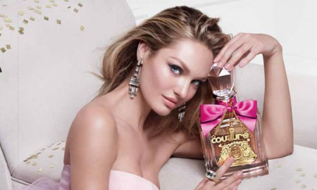 Candice Swanepoel stars in Viva La Juicy fragrance campaign