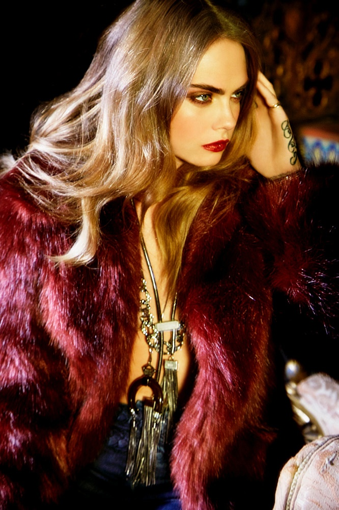 Cara Delevingne Turns Up the Glam in BO.BÔ Campaign