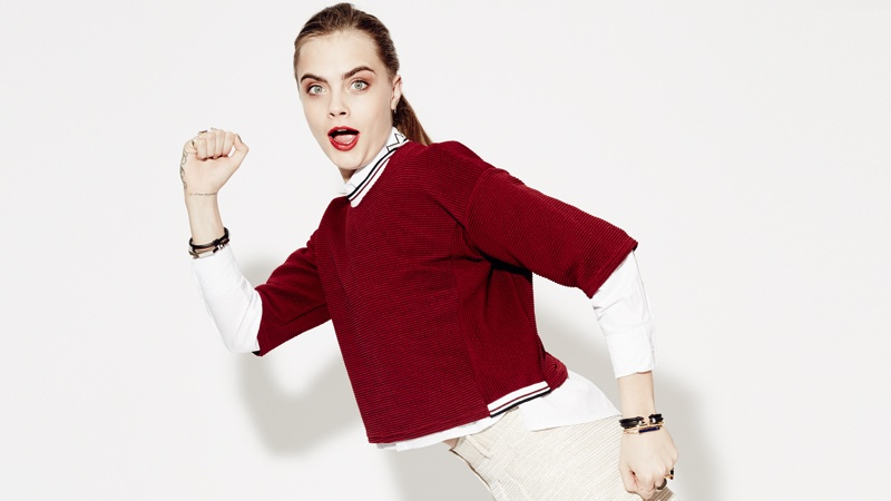 Cara Delevingne stars in Penshoppe's holiday 2015 campaign