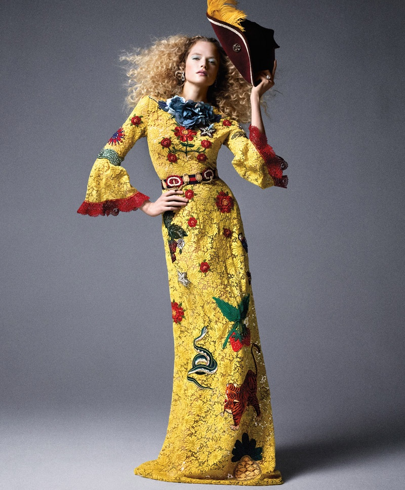 Pirates & Princesses: Carine Roitfeld Serves Up Fairy-Tale Fashion for BAZAAR