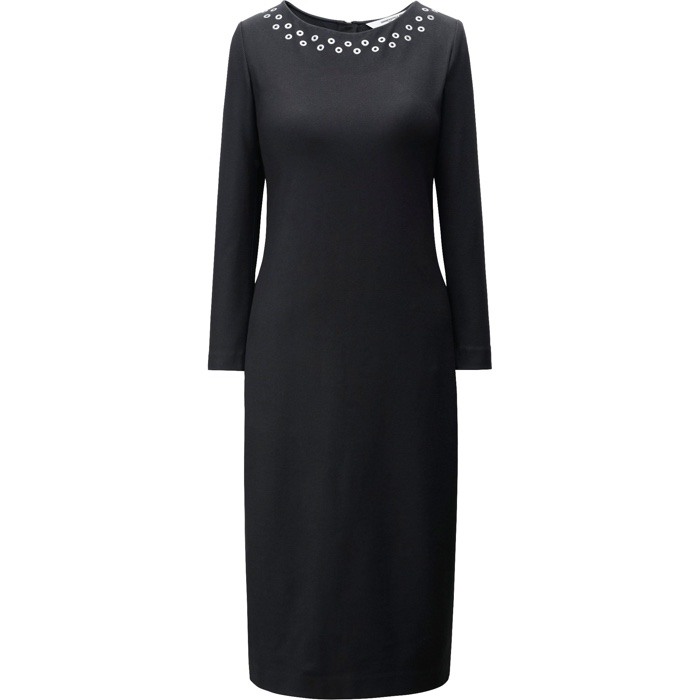 UNIQLO and Carine Roitfeld Black Dress with 3/4 Sleve