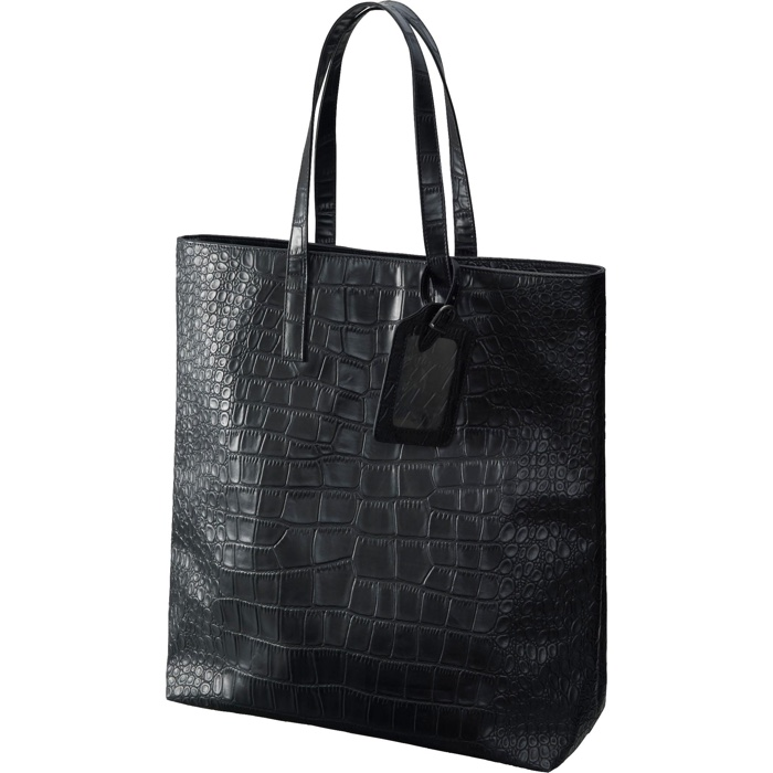UNIQLO and Carine Roitfeld Croc Pattern Tote Bag