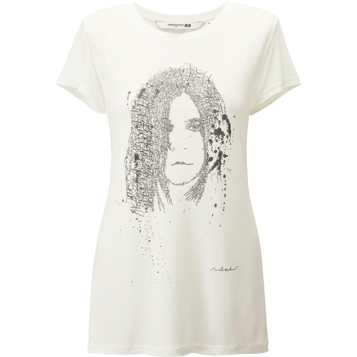 UNIQLO and Carine Roitfeld Graphic T-Shirt