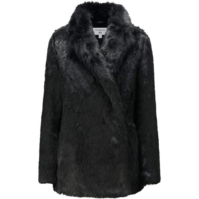 UNIQLO and Carine Roitfeld Short Faux Fur Coat