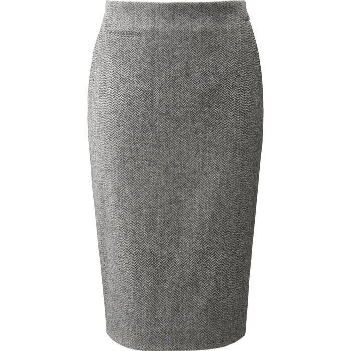 UNIQLO and Carine Roitfeld Wool Blended Tight-Fit Skirt