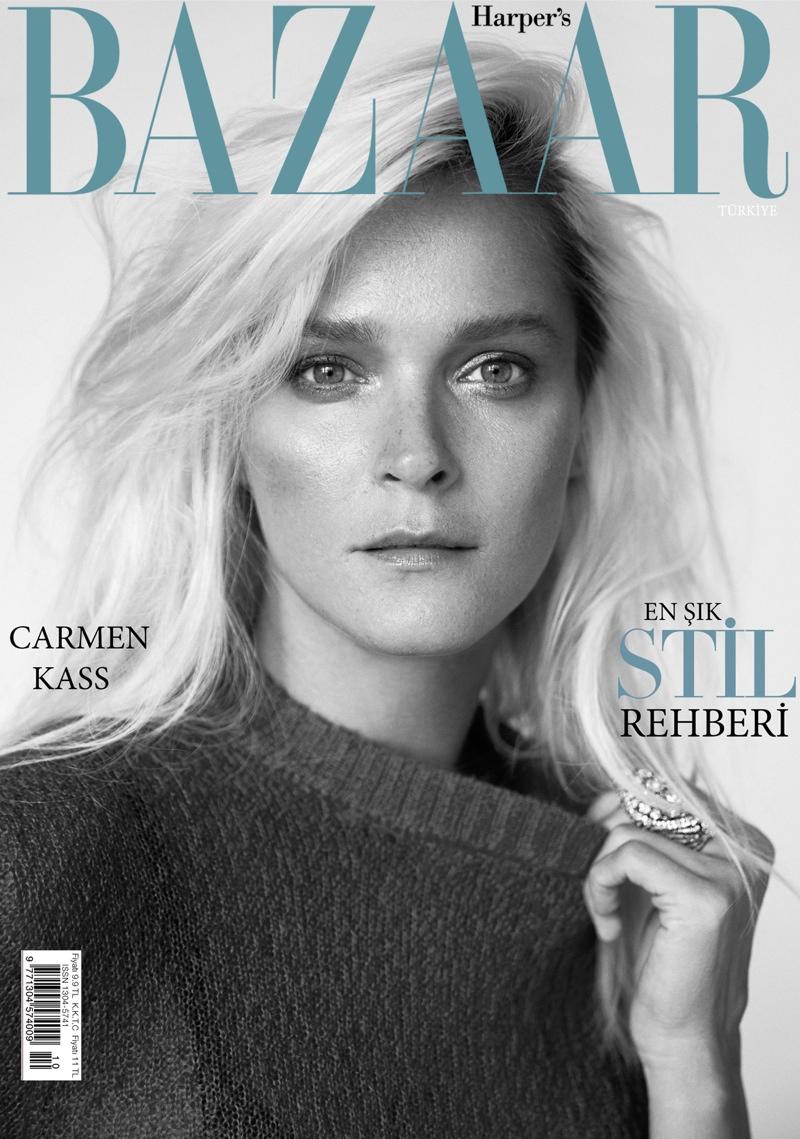 Carmen Kass - Harper`s Bazaar Turkey October 2015