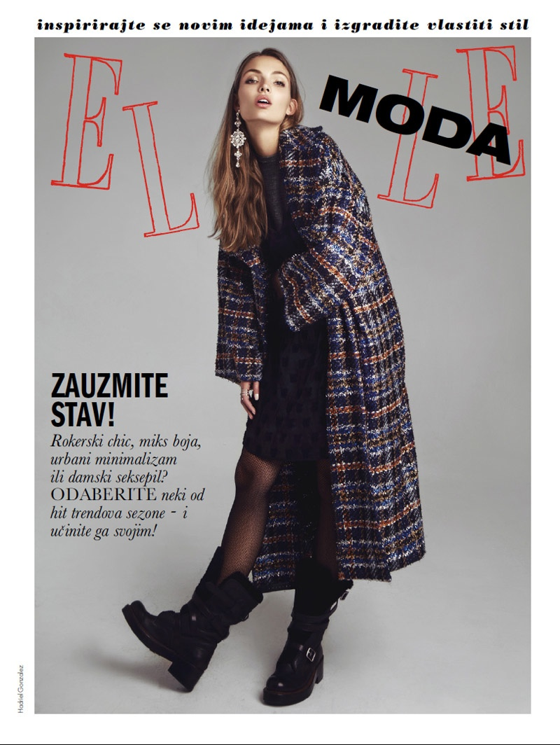 Carola poses for Hadriel Gonzalez in fall styles