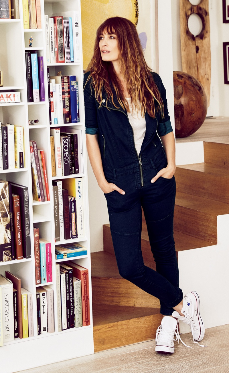 Caroline de Maigret for Free People's October 2015 catalogue