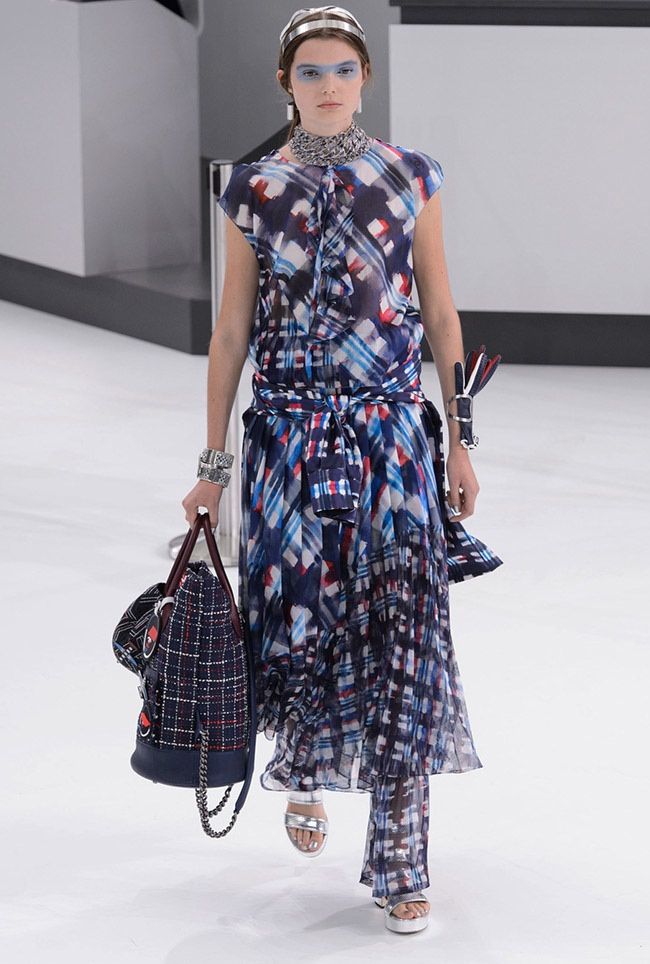 A look from Chanel's spring 2016 collection