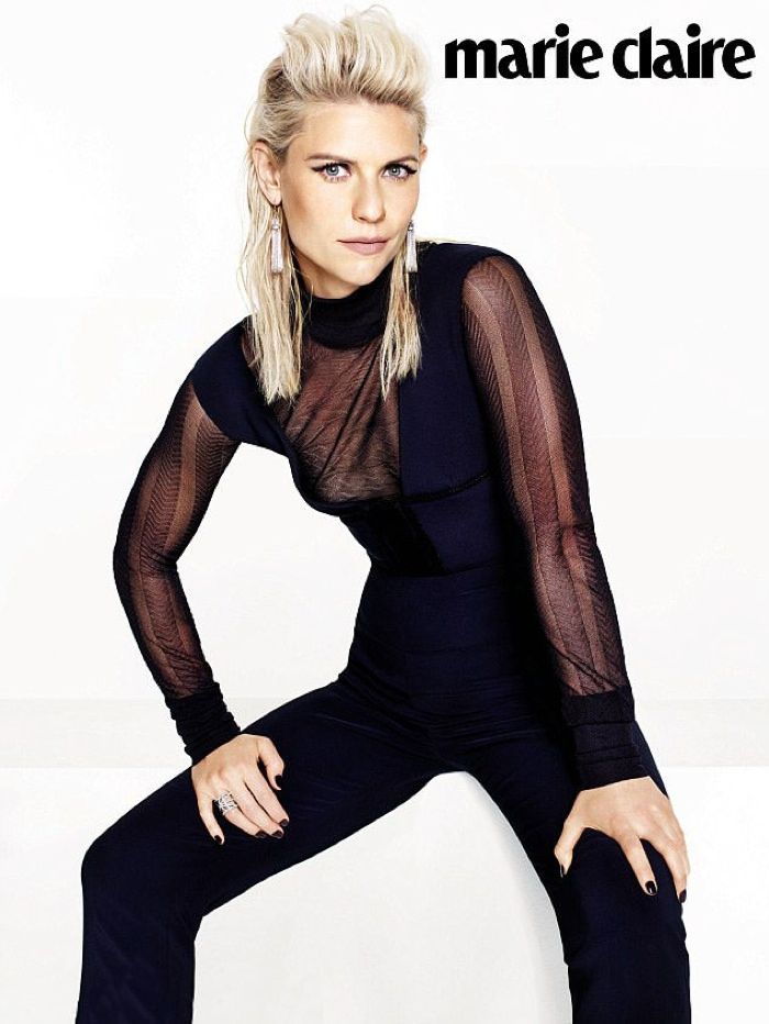 Claire Danes Stars in Marie Claire UK's November 2015 Cover Story