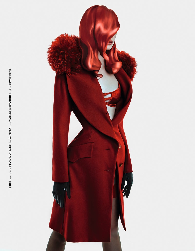 Codie wears looks inspired by the Jessica Rabbit
