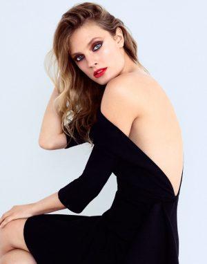Constance Jablonski Wears Fall Lipstick Shades for ELLE Spain