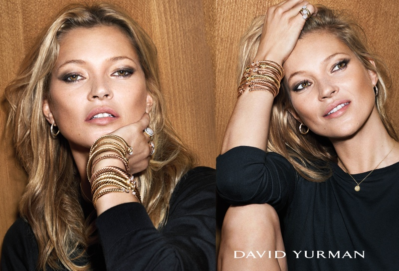 David Yurman Debuts First Color Campaign with Kate Moss & Anna Ewers