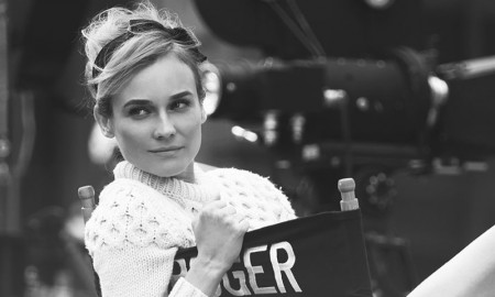 Diane Kruger poses for Violet Grey cover story