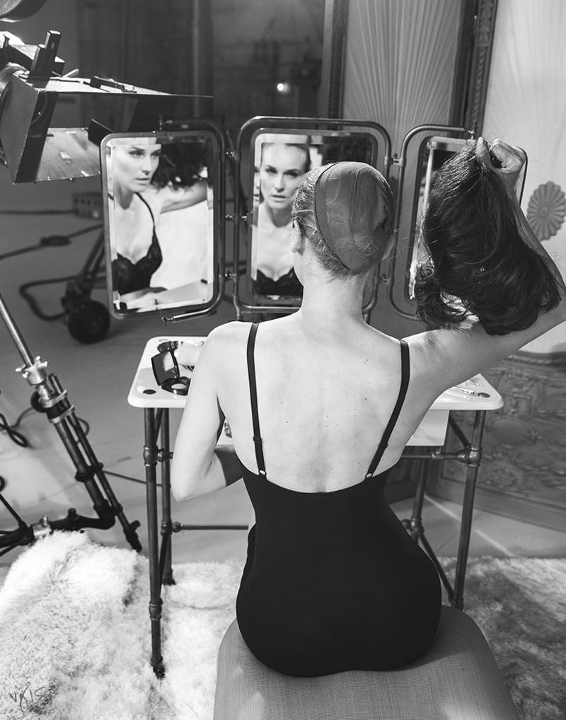 Diane Kruger for Violet Grey
