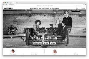 Diesel Unveils New Site with Online Magazine