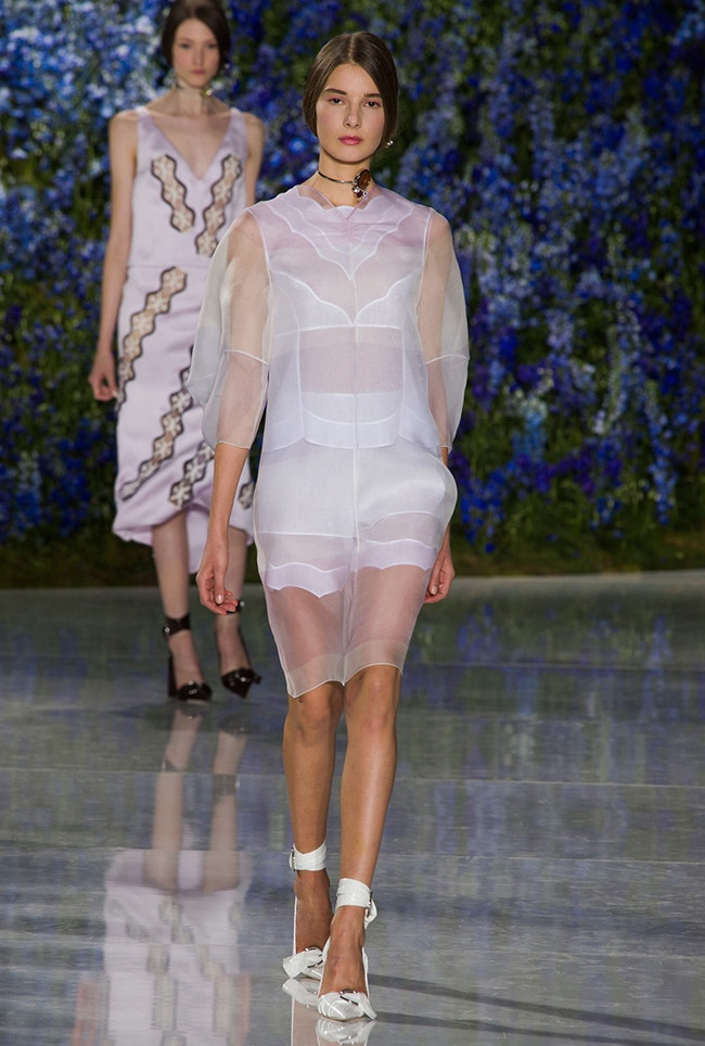 A look from Dior's spring 2016 colelction