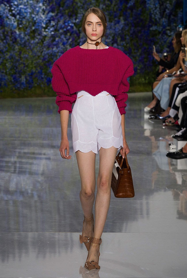 A look from Dior's spring 2016 collection