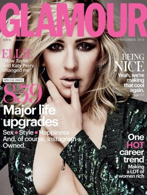 Ellie Goulding Brings the Heat for Glamour UK Cover