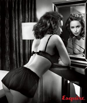 Emilia Clarke Stars in Esquire's Sexiest Woman Alive Shoot