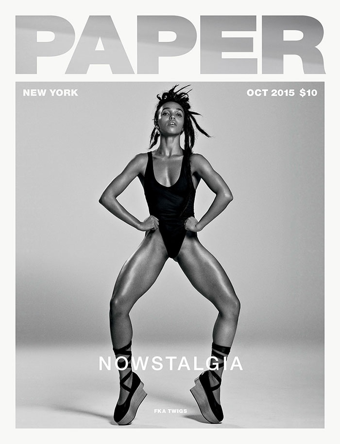 FKA Twigs Shows Off Her Moves For Paper Magazine October 2015