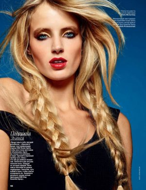 Fanny François Turns Up the Glam for Allure Russia