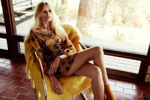 Vika Falileeva Models For Love & Lemons Dreamy Holiday '15 Dresses