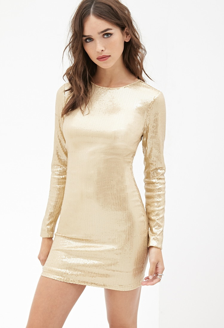 Forever 21 Sequin Bodycon Dress