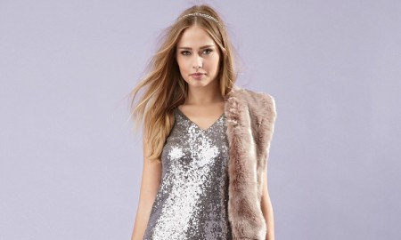 Forever 21 V-Back Sequin Dress